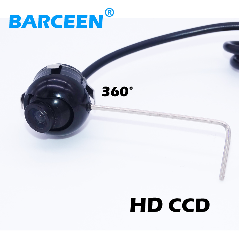 Universal Night Vision HD CCD 360 degree Car Rear View/front/side Camera