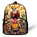 12-Inch Popular Kids Cartoon Backpacks For Preschool Uncle Grandpa Backpack For Children Boys Girls Kindergarten Bags For Baby