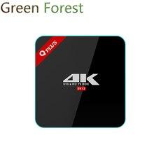 Q Plus Android TV BOX 6.0 3G + 32G S912 Octa-core cortex-A53 Set Top Box Wifi Lecteur Multimédia mieux que h96 pro plus