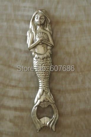 Copper Mermaid Bottle Opener Metal Beer Bottle Opener Tiki