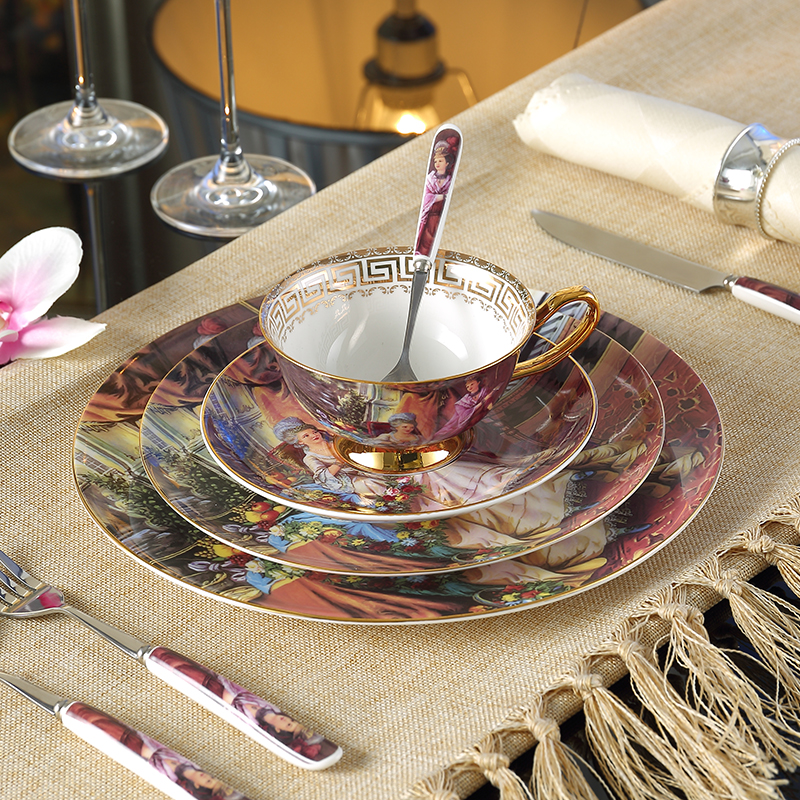 Bone China Tafelservice Empress Painting Bone China Dinnerware Sets Dishes And