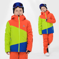 2020 Winter Children's Multi color Ski Suit Single And Double Board Boys And Girls Ski Jacket Travel Mountaineering Sportswear