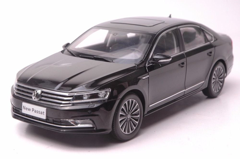 1:18 Diecast Model for Volkswagen VW Passat 2016 Black Alloy Toy Car Collection Gifts volkswagen passat б у дешево