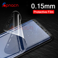 GPNACN 3D Curved Screen Protector For Samsung Galaxy S9 S9Plus S8 S8Plus Note 8 S7 Edge Soft Protective film Not Tempered Glass Phone Screen Protectors
