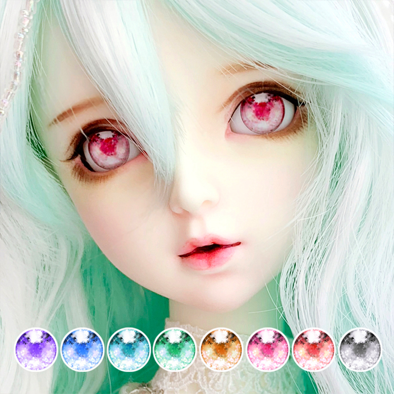 <font><b>BJD</b></font> eyes 10-<font><b>14</b></font>-20-24mm <font><b>doll</b></font> cartoon eyes with mirror light effect for 1/8 1/6 1/4 1/3 <font><b>BJD</b></font> DD <font><b>doll</b></font> eyes <font><b>doll</b></font> accessories image