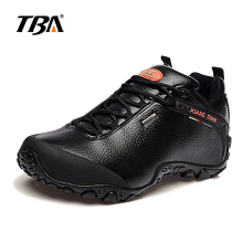 2017 TBA Men leather waterproof hiking shoes Women slip resistant shoes hard-wearing  shoes Outdoor breathable Climbing shoes