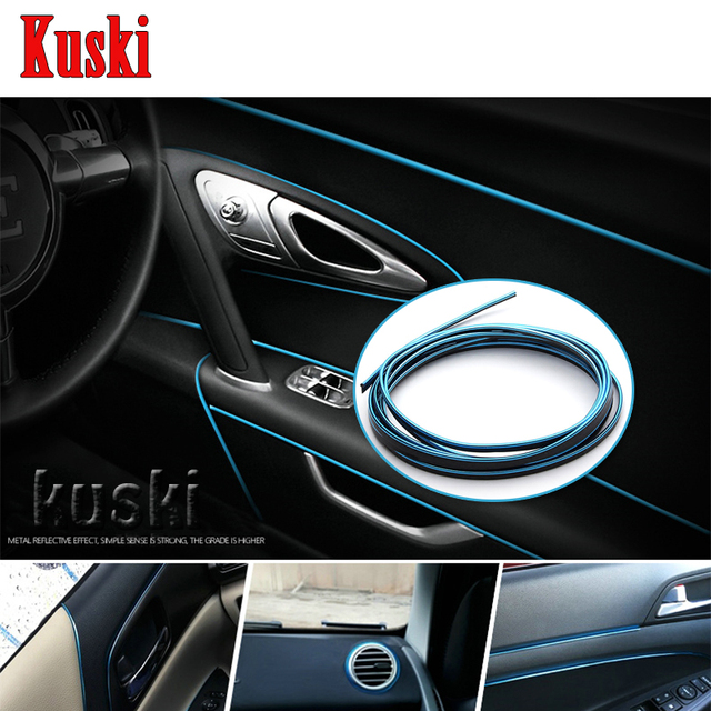 Car styling pvc decorative strip stickers for opel astra h j g insignia mokka corsa d vectra c