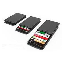 Zenlet Новые поступления гениальный бумажник черный минималистский и гениальный кошелек карты Horder