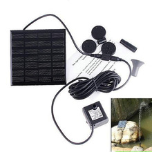 Outdoor Solar Bath Water Fountain Pump For Pool Small Mini Scenery Foundtain