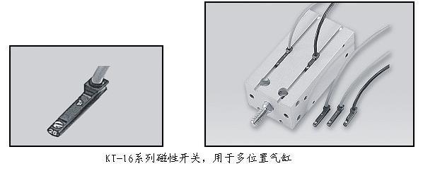 KT-16R capteur REED commutateur (LONG fil) AC DC 5-120 V