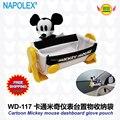 Accesorios del coche de Dibujos Animados de Mickey mouse car dashboard cuna caja de almacenamiento del teléfono WD-117 freeshipping