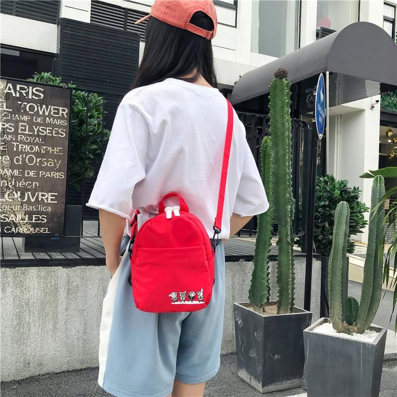 Original Nylon Women Casual Small Cute Packet Preppy Style Girls Children Mini Backpacks Female Ladies Shoulder Bags Rucksacks