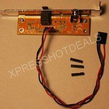 SPDIF support de câble optique et RCA hors plaque pour carte mère PC