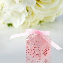 20pcs/lot Wedding Candy Box Paper Gift Cupcake Boxes for Festival Banquet Decoration party supplies