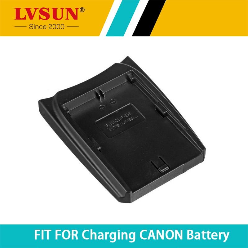 Lvsun <font><b>LP</b></font>&#8211;<font><b>E6</b></font> <font><b>LP</b></font> <font><b>E6</b></font> LPE6 Перезаряжаемые Батарея адаптер пластина для Canon DSLR EOS 60D 5D3 7D 6D 70d 5D mark II SLR Battries Зарядное устройство