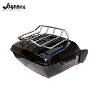 Motorcycle King Tour Pak Pack Trunk Luggage Rack Speaker For Harley Touring Road King Electra Street Glide 2014 2018 Top Case