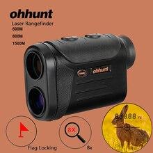 Ohhunt монокулярный лазерный дальномер 600 м 800 м 1500 м многофункциональная охотничья оптика лазерный дальномер измерительный лазерный дальномер