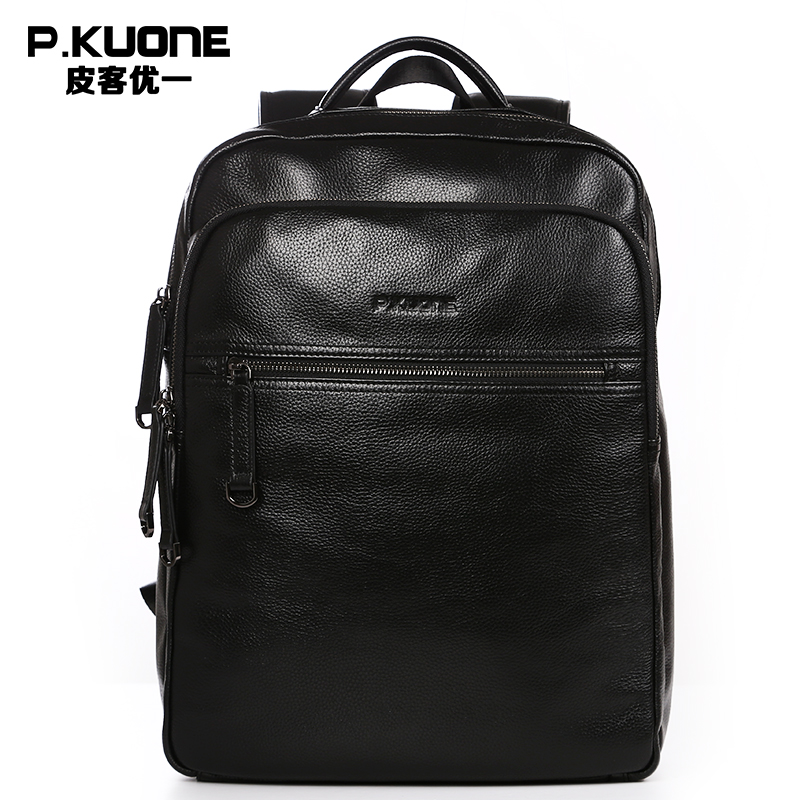 Black Cowhide Backpacks Luxury Brand Travel Backpacks Men Genuine Leather School Bag Fashion Men Bags Waterproof Laptop Bag marrant genuine leather backpacks men shoulder bag men bag leather laptop bag 15 inch men s luggage travel bags school backpack