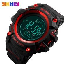 SKMEI спортивные часы для мужчин модные мужские цифровые часы альтиметр барометр компас температура погода электронные Роскошные мужские часы