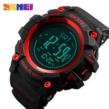 Skmei relógio digital masculino, relógio masculino esportivo moderno com altímetro, barômetro, bússola, previsão do tempo, relógio eletrônico para homens