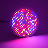 50W 33W E27 Led Grow Light Red Blue Spectrum Indoor Flower Plant Lamp With Clip AC85