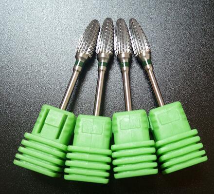 2 Big Cone carbide Nail Drill Bit Coarse Electric Manicure Machine Accessories Nail Art Tools Electric