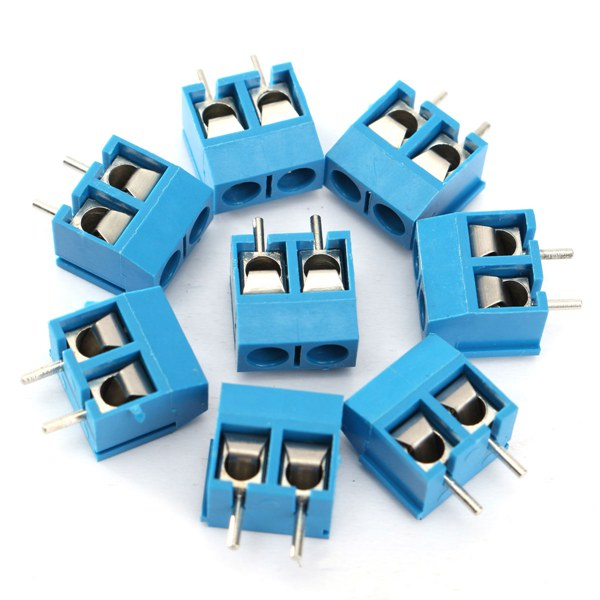 20x 2 Pin Plug-in Screw Terminal Block Connector 5.08mm Pitch Connectors Terminals Blocks 1 284040 2[pluggable terminal blocks plug 12p vert 5mm] mr li