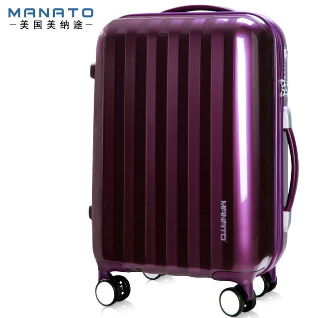 28 Inch Unisex Trolley Luggage ABS Caster Board Chassis Hardsid Luggage Pure Color Aluminum Frame Travel Suitcases For Men Women
