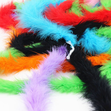 2yard/Length Turkey Feather fluffy feather boa super quality marabou for party/costumes/shawl turkey