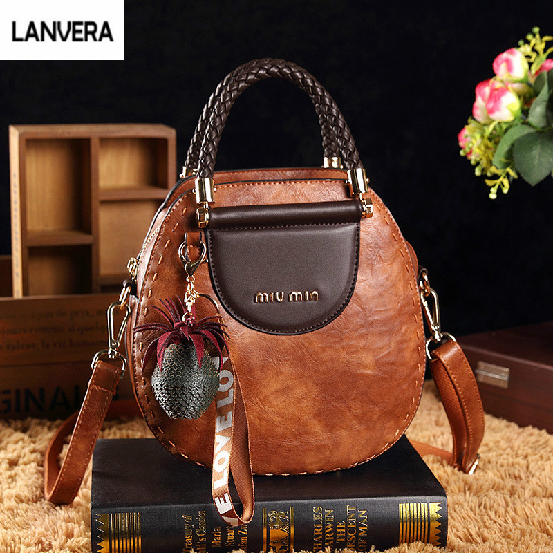 2018 New Fashion Women Bag Vintage Handbag Casual Tote Womens Messenger Bags Shoulder Top-Handle Purse Wallet Leather gg bag 2018 women messenger bags vintage cross body shoulder purse women bag bolsa feminina handbag bags custom picture bags purse tote