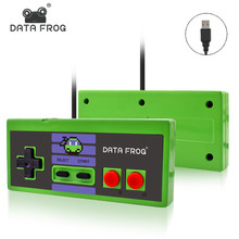 Data Frog Custom Game Controller 3 Color Wired USB Gamepad Joystick For 8 Bit Games For PC&Mac For Windows 7/10 цена 2017