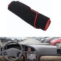 For Hyundai Elantra 2004 2011 Car Dashboard Avoid Light Pad Instrument Platform Desk Cover Mat Silicone Non skid Back Surface