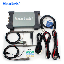 Hantek Official 6074BD USB Oscilloscopes 4 Channels 70Mhz Osiclloscope Digital PC Handheld Osciloscopio + 25Mhz Signal Generator