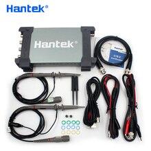 Hantek Osciloscopio USB oficial 6074BD, 4 canales, 70Mhz, Digital, PC, portátil, generador de señal de 25Mhz