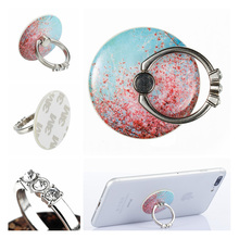 ФОТО diamond finger ring holder 360 degree metal smartphone mobile phone hand spinner stand holder phone for mobile phones ring