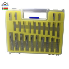 150 Pieces 0.4~3.2mm HSS Micro PCB Drill Bit Set Precision Twist Drill Kit Tools Accessoris with Case Free Shipping
