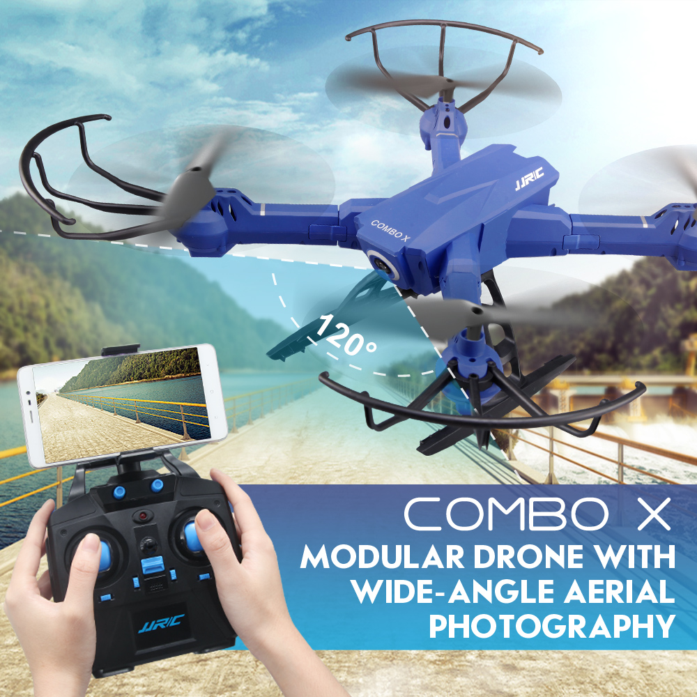Newest JJRC H38 FPV RC Quadcopter 2.4G 4CH 6axis RC Drone with 2MP Wide-Angle WIFI Camera Headless Mode Altitude Hold VS H31 H37 headless mode jjrc h20w hd 2mp camera drone wifi fpv 2 4ghz 4 channel 6 axis gyro rc hexacopter remote control toys nano copters