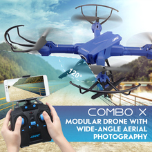 Newest JJRC H38 FPV RC Quadcopter 2.4G 4CH 6axis RC Drone with 2MP Wide-Angle WIFI Camera Headless Mode Altitude Hold VS H31 H37