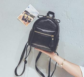 Women Mini Backpack Fashion Leather Backpacks for Teenagers Girl Small Female School Backpack Cute Shoulder Bag Bagpack Mochila genuine leather women s shopping backpacks ladies daily cowhide backpack female girl s school shoulder bag rucksack mochila