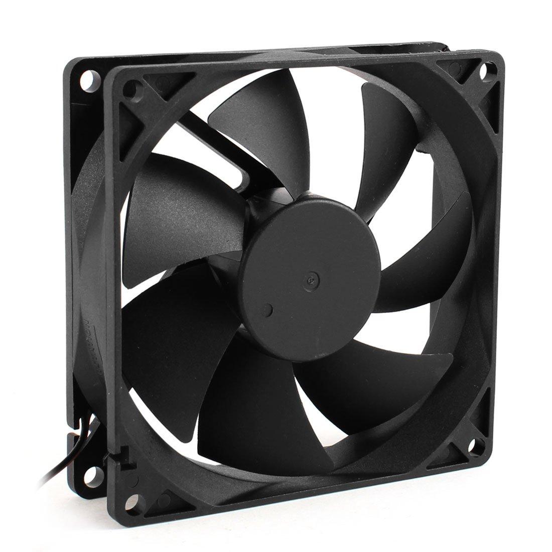 CAA Hot 92mm x 25mm 24V 2Pin Sleeve Bearing Cooling Fan for PC Case CPU Cooler gdstime 10 pcs dc 12v 14025 pc case cooling fan 140mm x 25mm 14cm 2 wire 2pin connector computer 140x140x25mm