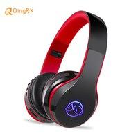 LED Light Bass Headphone Bluetooth Wireless Headset Musical Stereo Sporting Earphone