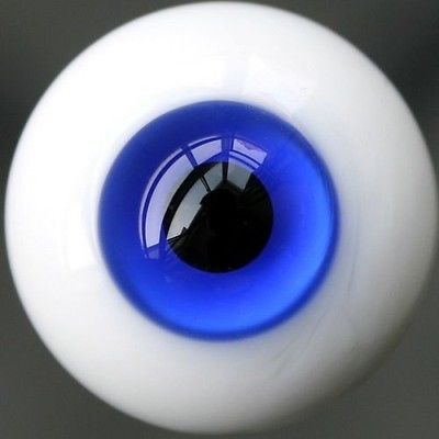 wamami 16mm Dark Blue For BJD Doll Dollfie Glass Eyes Outfit