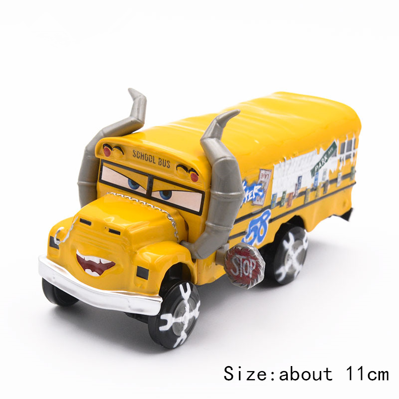 Disney Pixar Cars 3 Toys Role Miss Fritter Lightning McQueen Jackson Cruz Ramirez 1:55 Diecast Cars Model Toys Kid Birthday Gift