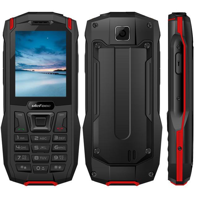Ulefone Armor Mini Waterproof IP68 Outdoor Mobile Phone Wireless 2.4″ MTK6261D 2500mAh 0.3MP Dual SIM Rugged Phone  32MP RAM