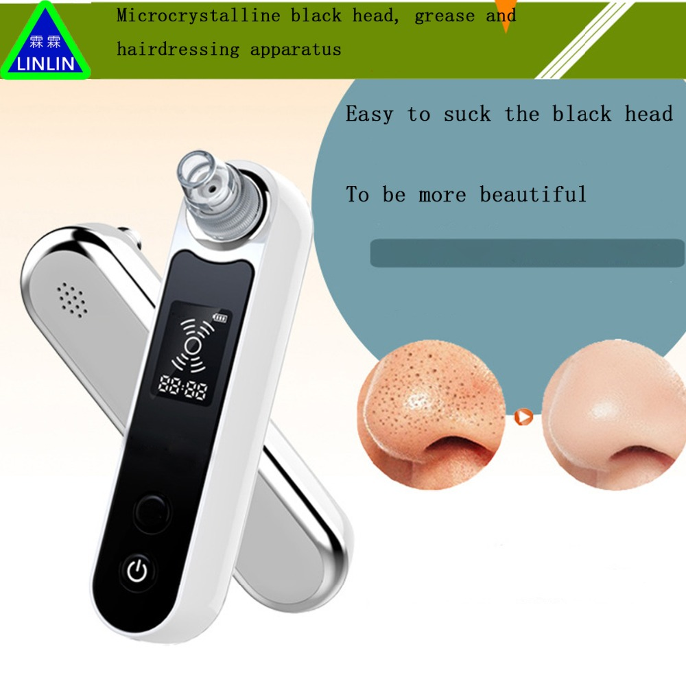 LINLIN household Electric Blackhead instrument Cleanser for acne Pore cleaning artifact Blackhead removal instrument