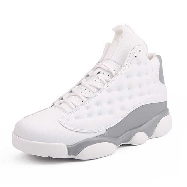 US $25.61 37% OFF|Jordan 13 Men Brand Basketball Shoes AJ 13 Sport Boots Men's Comfortable Sneakers Male Winter High top Shoes Man Athletic Shoes in