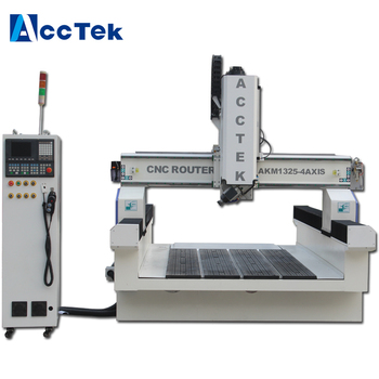 1325 4 axis engraving cnc router machine for wood furniture engraving