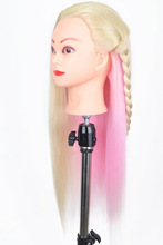 Training Head For Hairdressers Mannequin With Hair Colorful Dummy Mannequins Sale Makeup