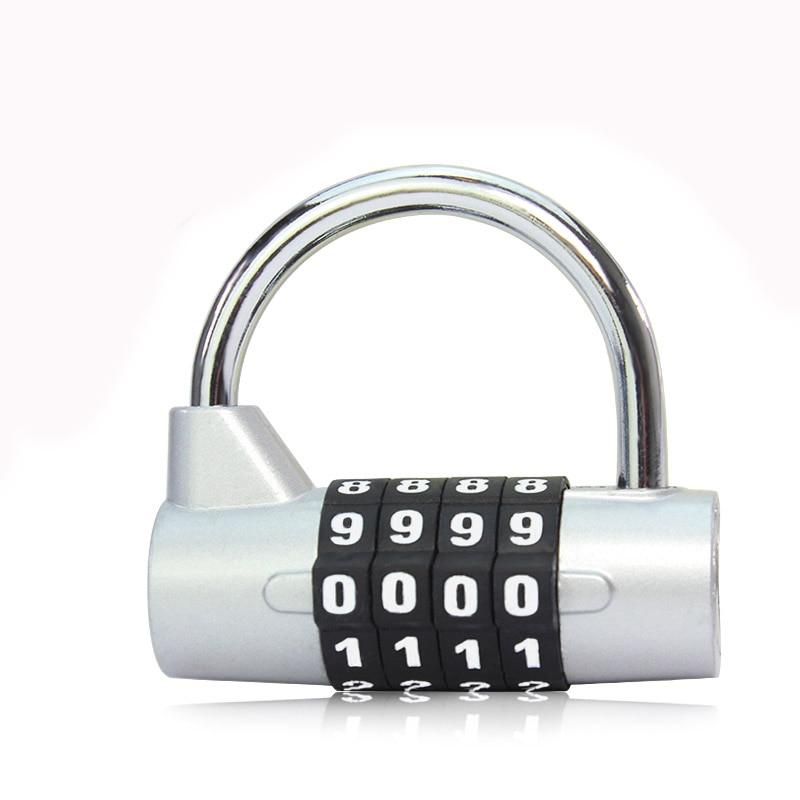 1 قطع الصالة الرياضية خزانة مكود قفل - التنظيم والتخزين في المنزل