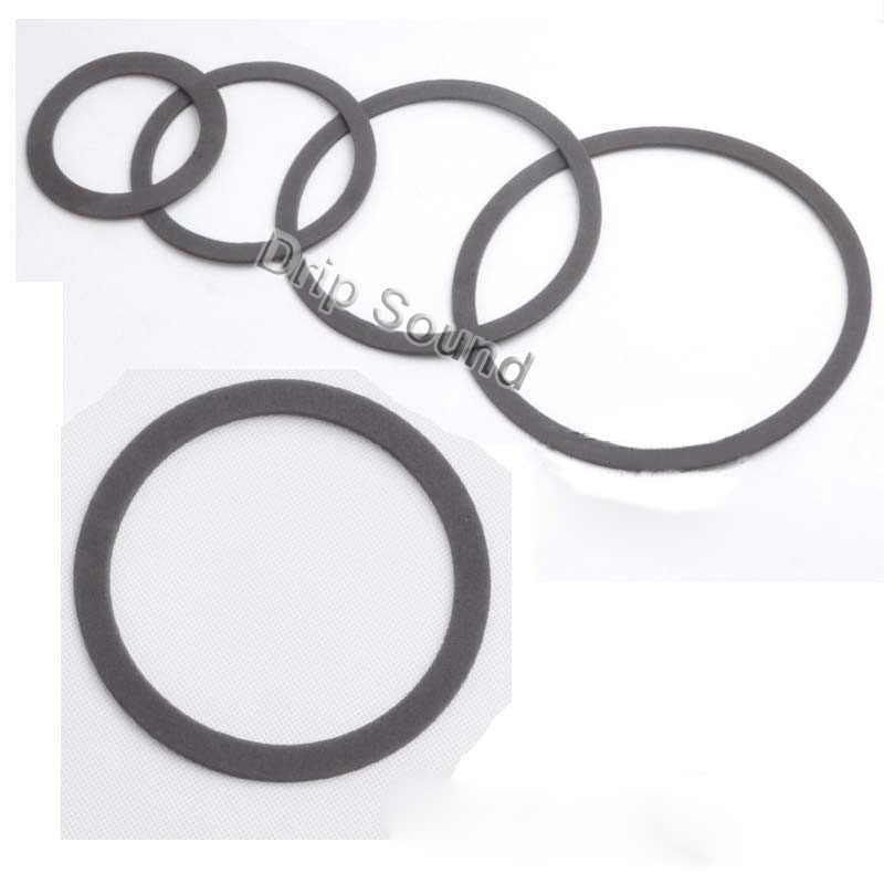 "2 Pcs 3 ""-8"" Inch EVA Speaker Sealing Gasket Woofer Shockproof Seal Pad Mesin Cuci Cincin"